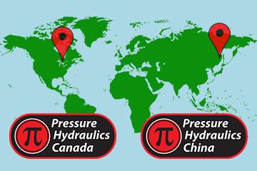 New International locations